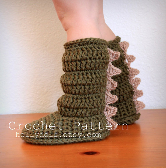 Crochet Patterns For Toddlers Slippers : 30+ Crochet Baby Shoes Ideas and Patterns - Page 4 of 5