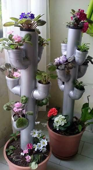 PVC Planters #PVC #Planters
