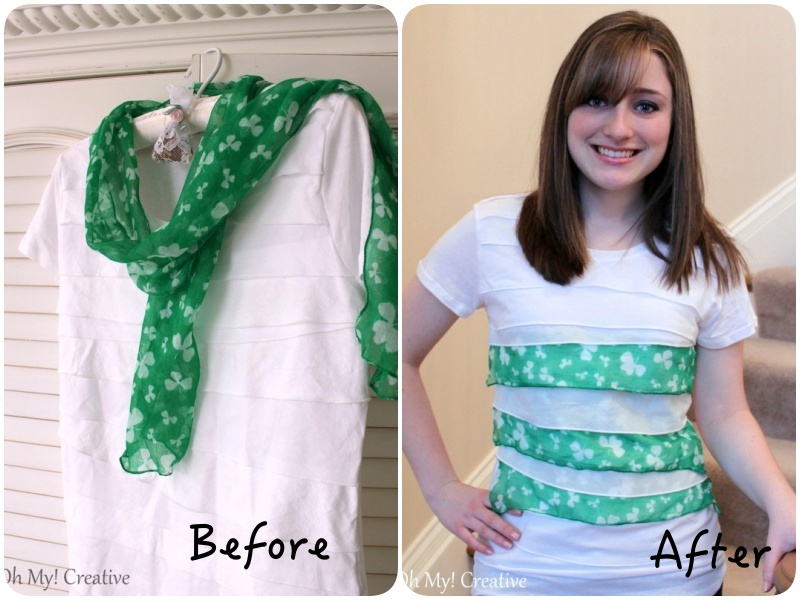 DIY Womans St.-Patricks-Day T-Shirt