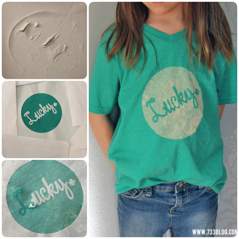 Bleached Lucky St. Patrick's Day Shirt