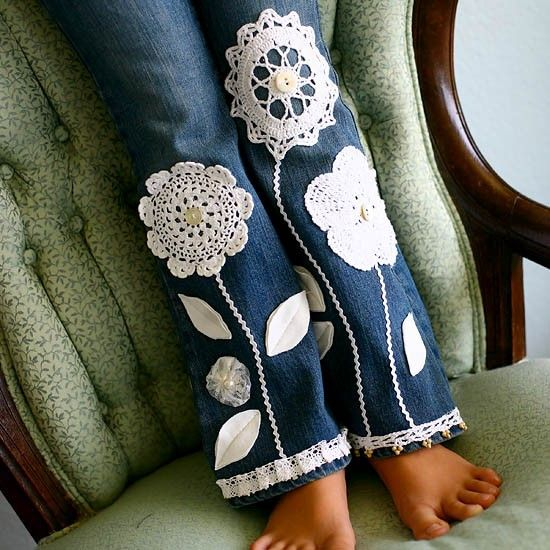 Crochet Knee Patches