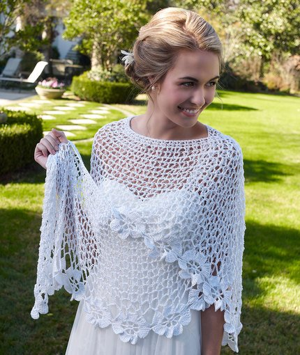 Free Crochet Shawl Patterns For Spring : Crochet Spring Blooms Shawl with Free Pattern