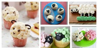 DIY Cute Sheep Cupcakes - Great Choice for Kids Birthday Party