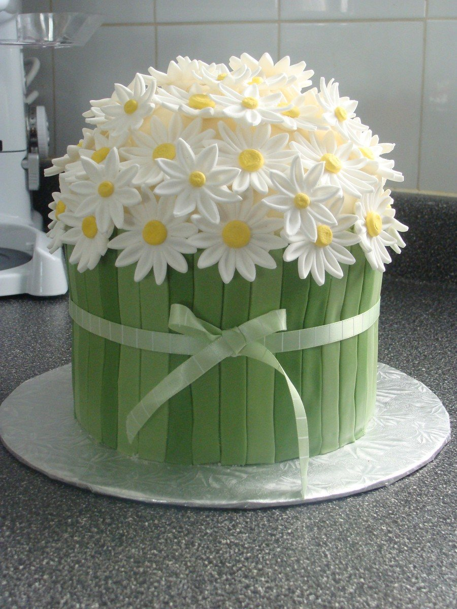 Easter Daisy Cake Cool Creativities