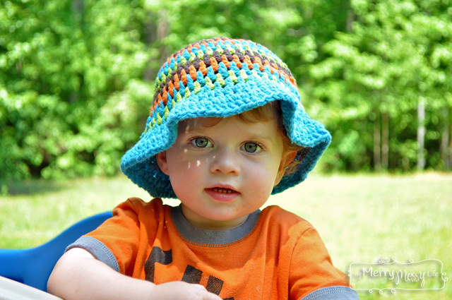 Free Summer Hats To Crochet For Kids Baby And Toddler Boy Sun Hat