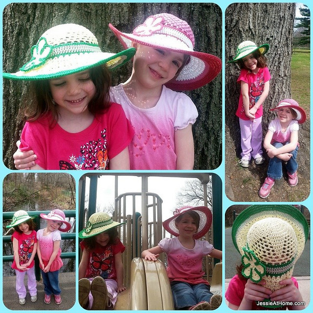 Free Summer Hats to Crochet for Kids -Be A Star Child's Sun Hat