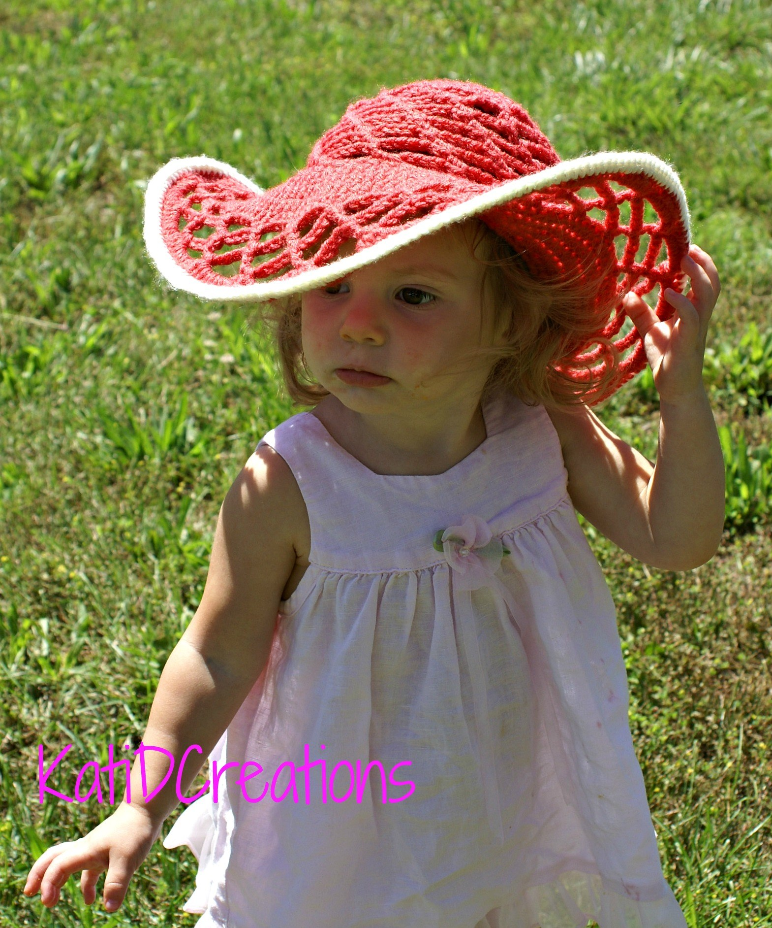 Free Summer Hats to Crochet for Kids -Belmont Sun Hat