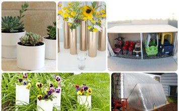uses of pvc pipes in your garden
