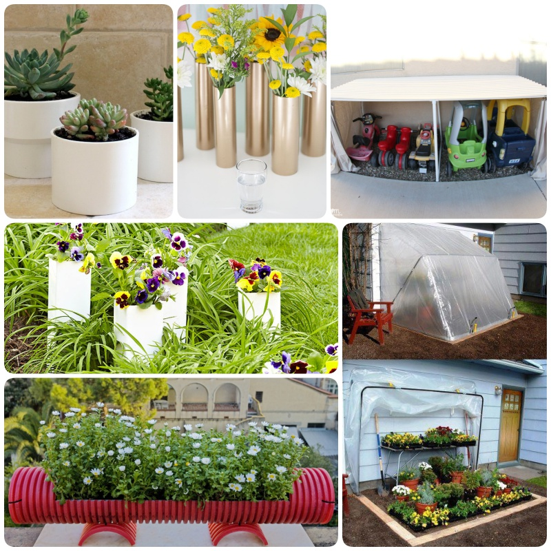 Fun & Creative Uses of PVC Pipes in Your Garden