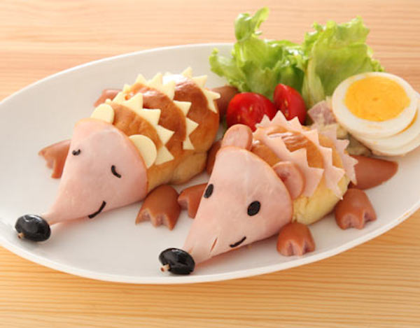 Hedgehog Sandwiches