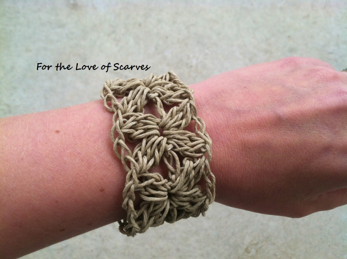 Crochet Pretty Bracelets With Patterns Page 2 Of 3