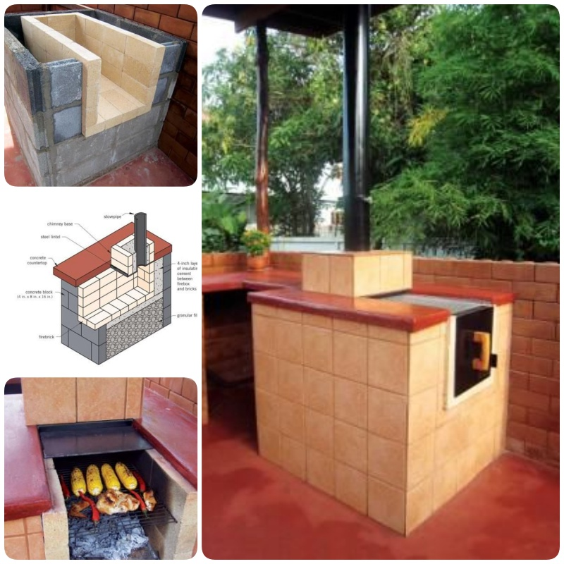Brick Grills And Outdoor Countertops Building Your