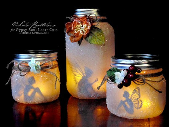 How to Make Mason Jar Fairy Lantern (Video Tutorial)