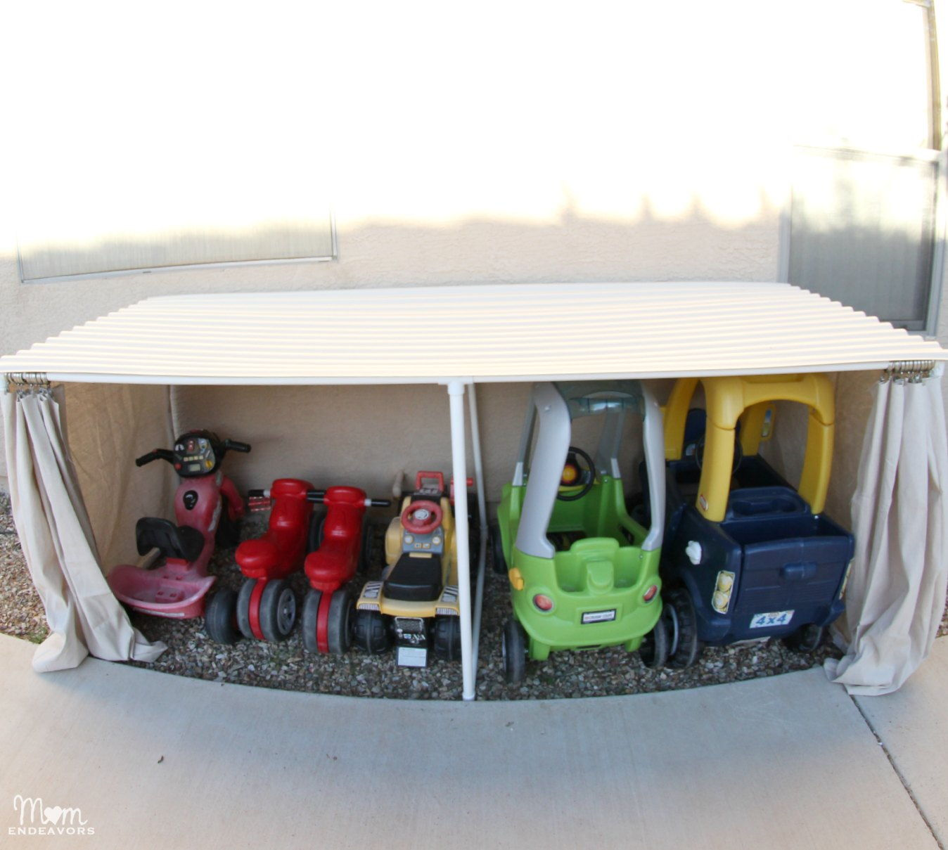 PVC Kids Car Garage