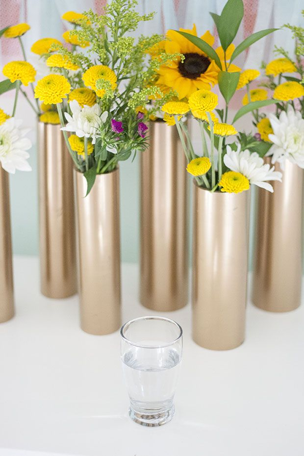 PVC Vase and Centerpiece