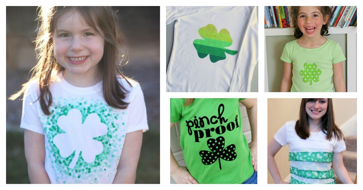 St Patricks Day Crafts – Easy DIY T-Shirt f