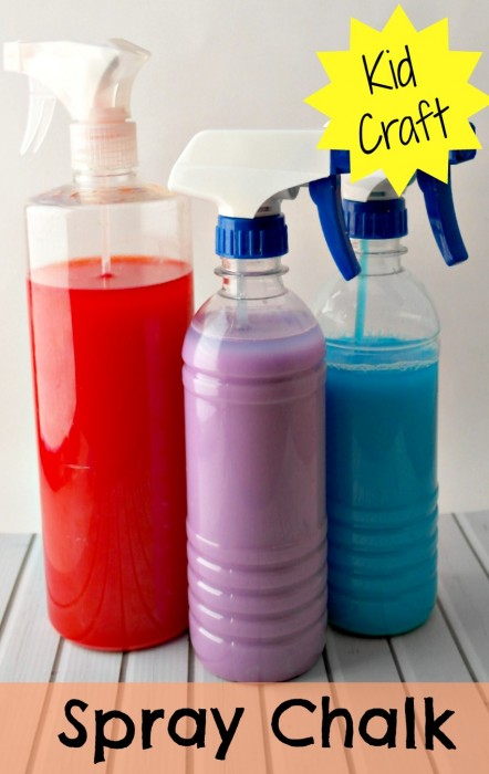 Super Easy To Make Spray Chalk Paint Recipe