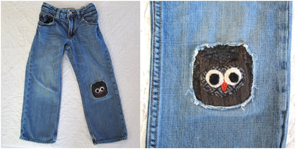 20 Diy Creative And Fun Knee Patches On Pants Page 2 Of 4