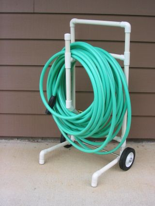 PVC Hose Caddy # DIY #PVC # Hose # caddy