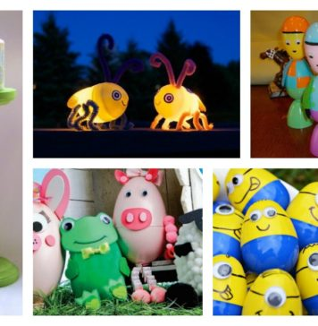 29 Creative Ways to Upcycle Plastic Easter Eggs