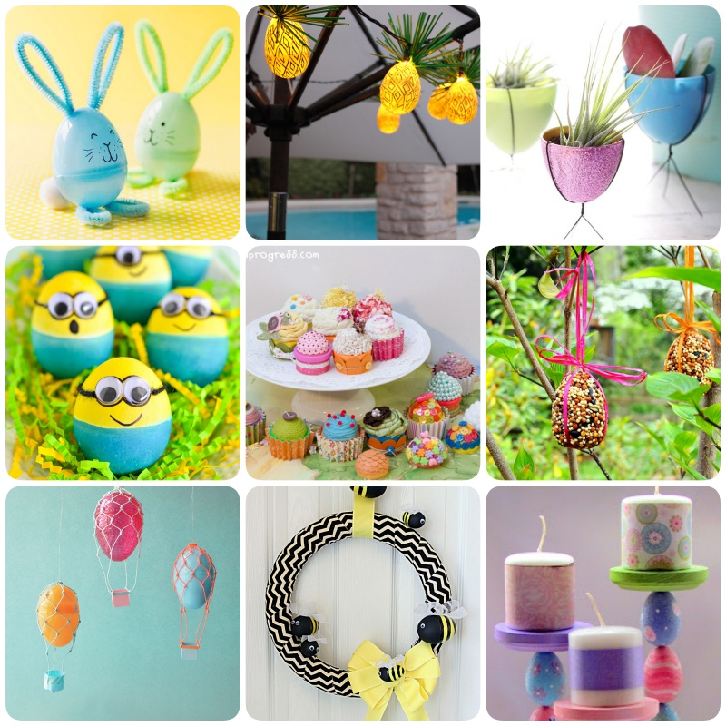 28 Creative Ways to Upcycle Plastic Easter Eggs