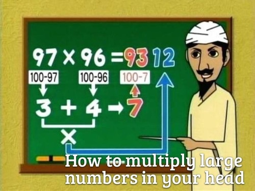 12 Useful Math Hacks That They Didn't Teach You In School -How To Multiply Large Numbers In Your Head