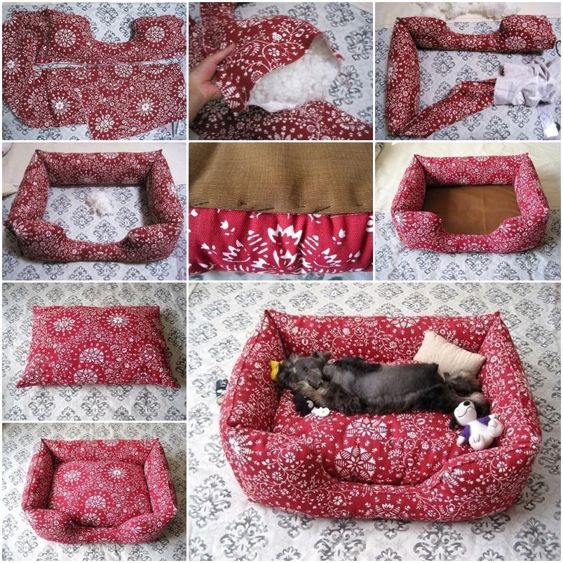 Dog Bed Diy Easy