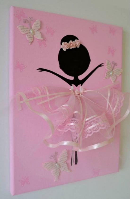 Ballerina Tutu Canvas Wall Art