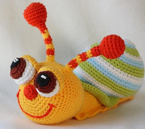 Crochet Amigurumi Snail Pattern