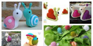 Crochet Amigurumi Snail Patterns