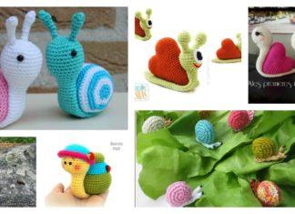 Crochet Amigurumi Snail Patterns (With images) | Crochet unicorn ... | 235x324
