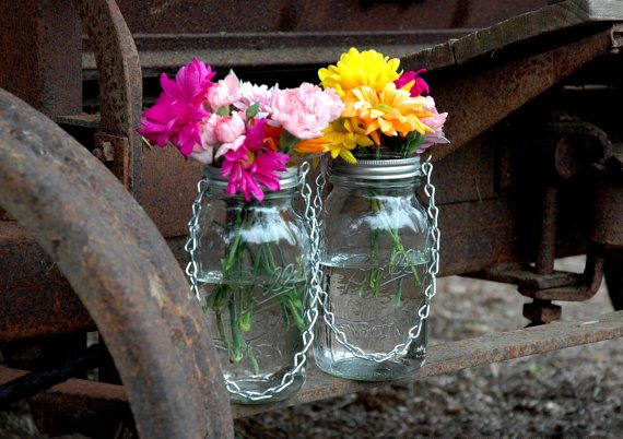 Diy Hanging Mason Jar Lantern To Add A Romantic Glow To