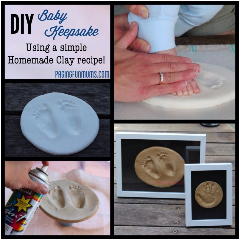 9 Cute Diy Footprint Keepsake Ideas And Tutorial Page 2 Of 2