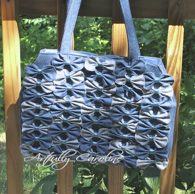 Creative Denim Bags Made with Recycled Jeans