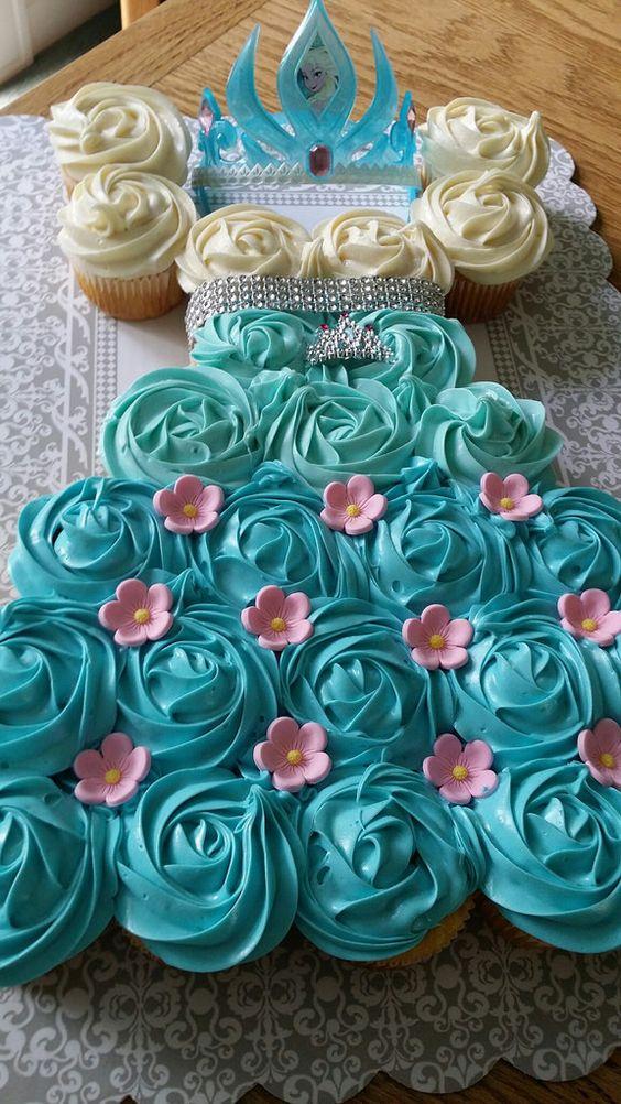 Frozen Birthday Cake Cool Creativities