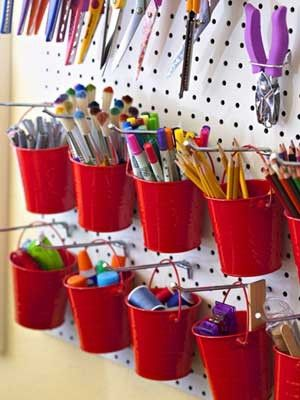 Great ideas for crafts organization