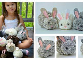 How to Make Pom-pom Bunny -