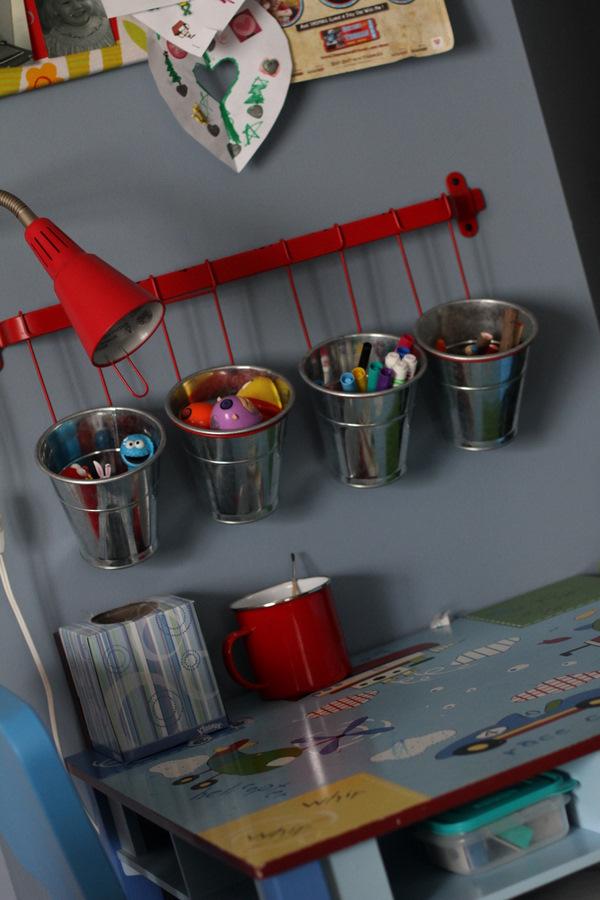Organizing Kiddos Coloring Table