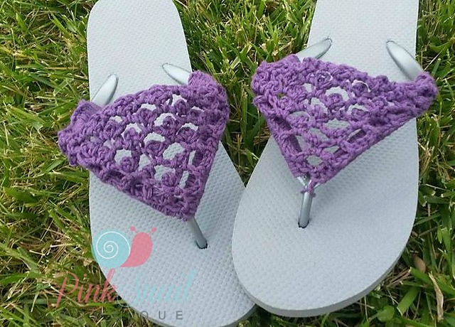 d8cab4e8c 18 Crochet Flip Flops with Free Pattern - Page 2 of 2