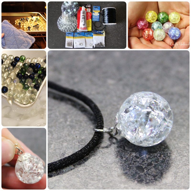 How to Turn Marbles into Crackle Bead Jewelry