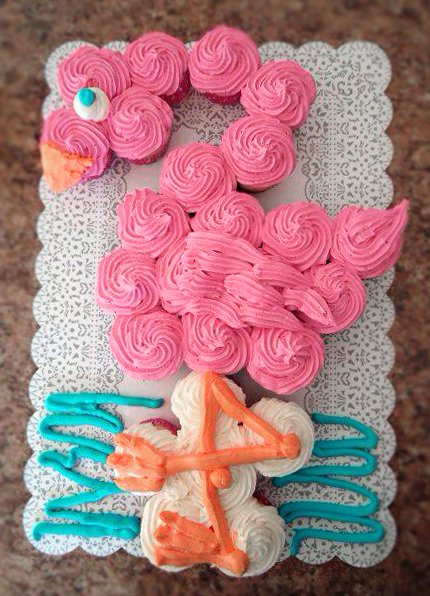 20 Cutest And Most Creative Pull Apart Cupcake Cakes