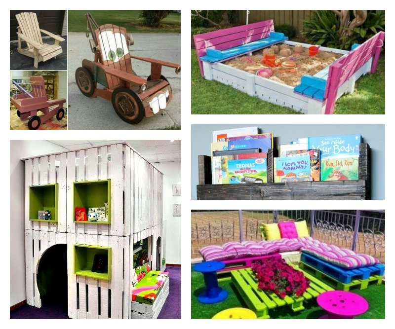 10 Incredibly DIY Kids Pallet Furniture Projects Main