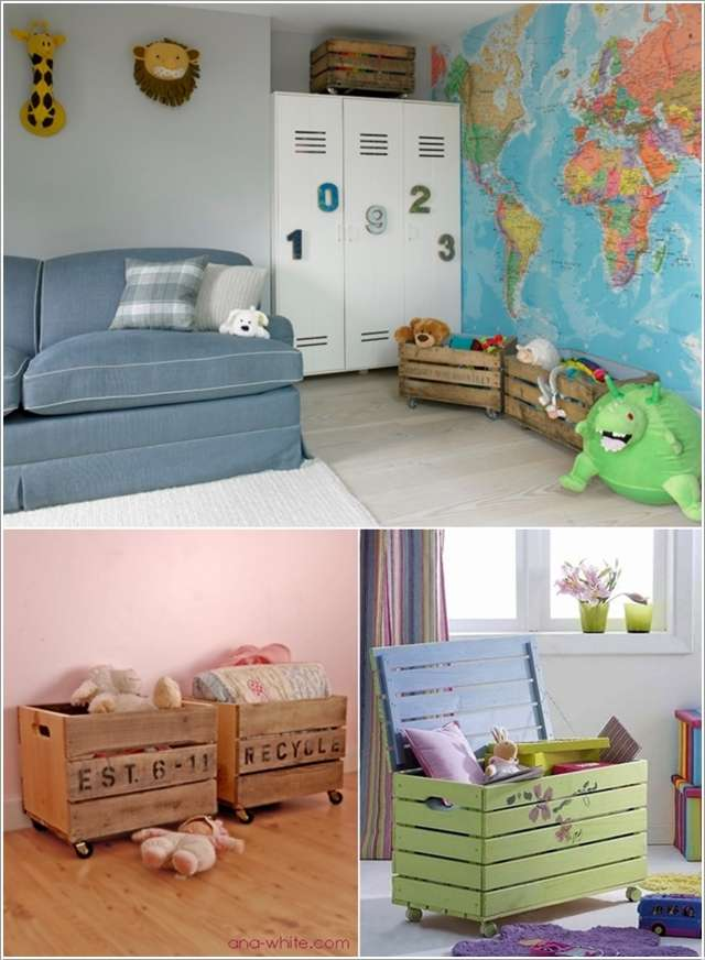 10 Incredibly DIY Kids Pallet Furniture Projects12