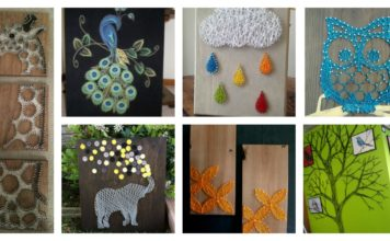 30+ Creative DIY String Art Project Ideas