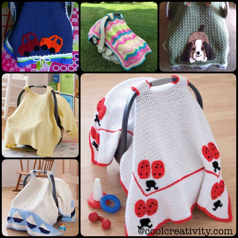 Crochet baby car seat cover with pattern crochet baby car seat tant cover with pattern dt1010fo