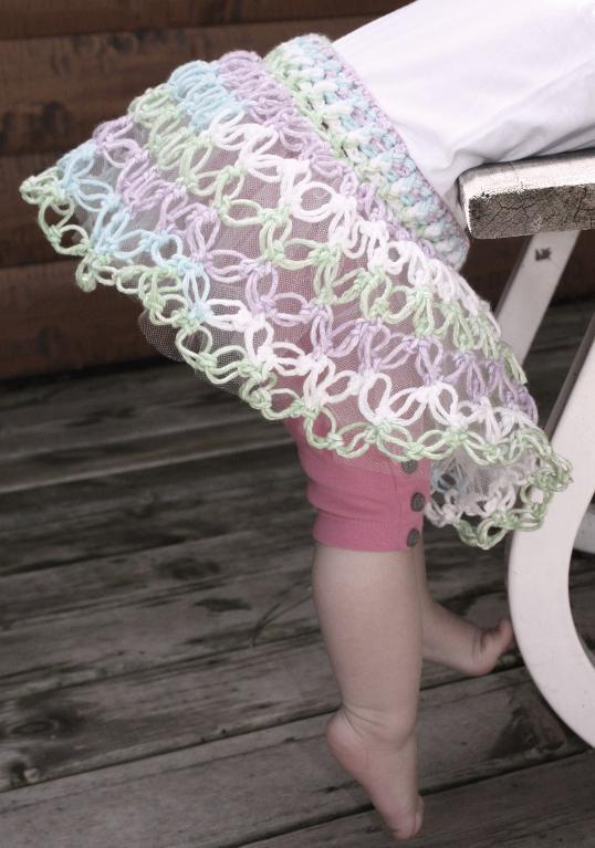 Crochet Solomon Knot With Pattern