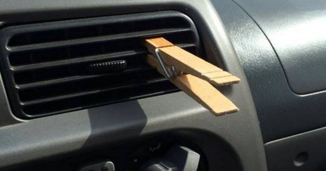 DIY Clothespin Air Freshener