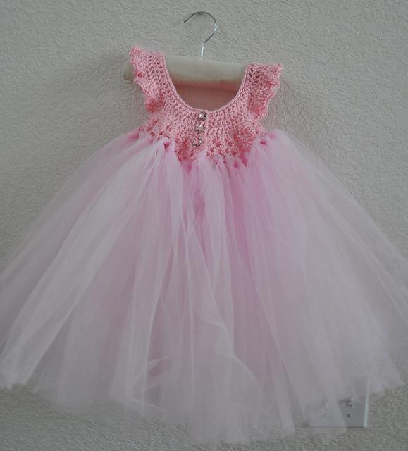 Crochet Princess Dress with Free Pattern