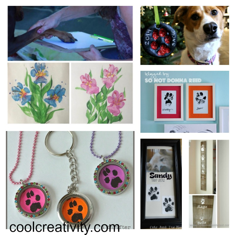 10 easy dog paw print craft projects