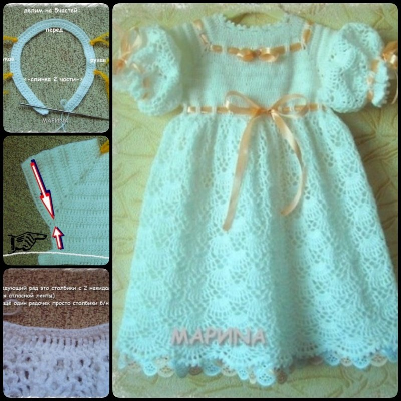 Free Crochet Baby Dress Patterns Cool Creativities